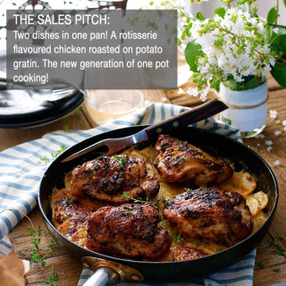 Sales Pitch For Every Recipe