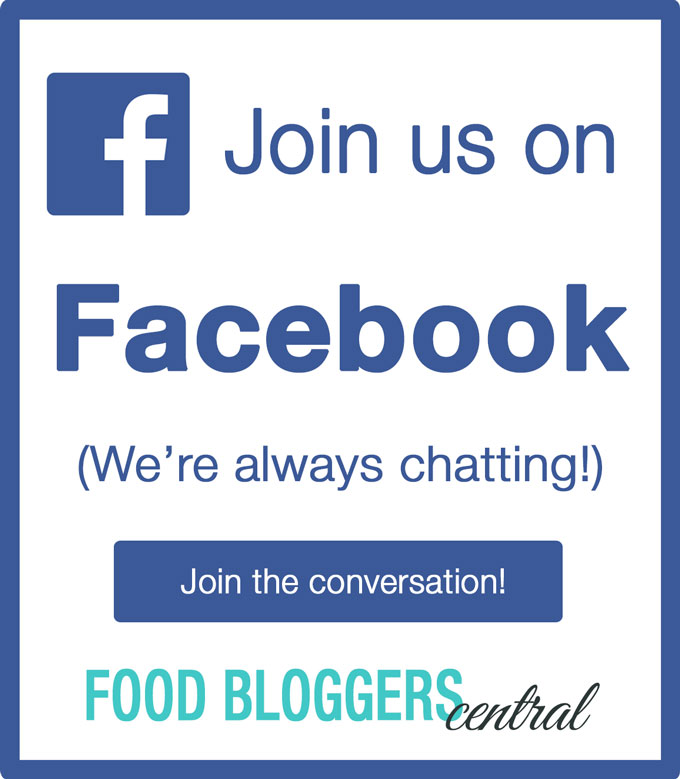 Join Food Bloggers Central on Facebook