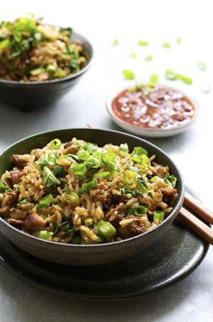 Chicken Adobo Fried Rice
