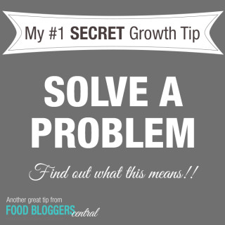 #1 Food Blog Growth Tip: The Growth Tip You've Probably Never Heard