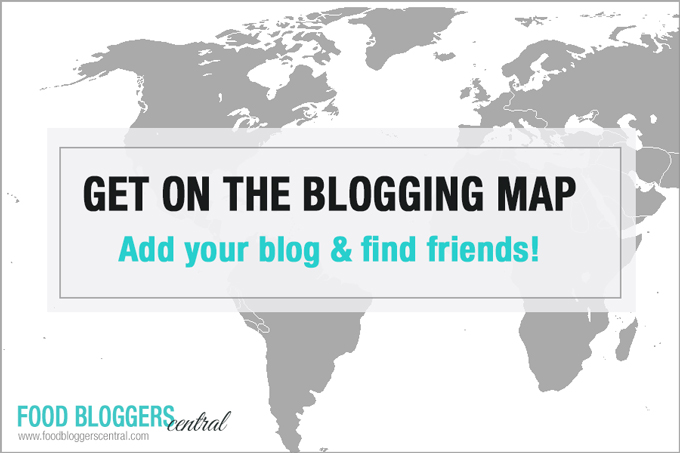 Get yourself on the Food Bloggers Map!