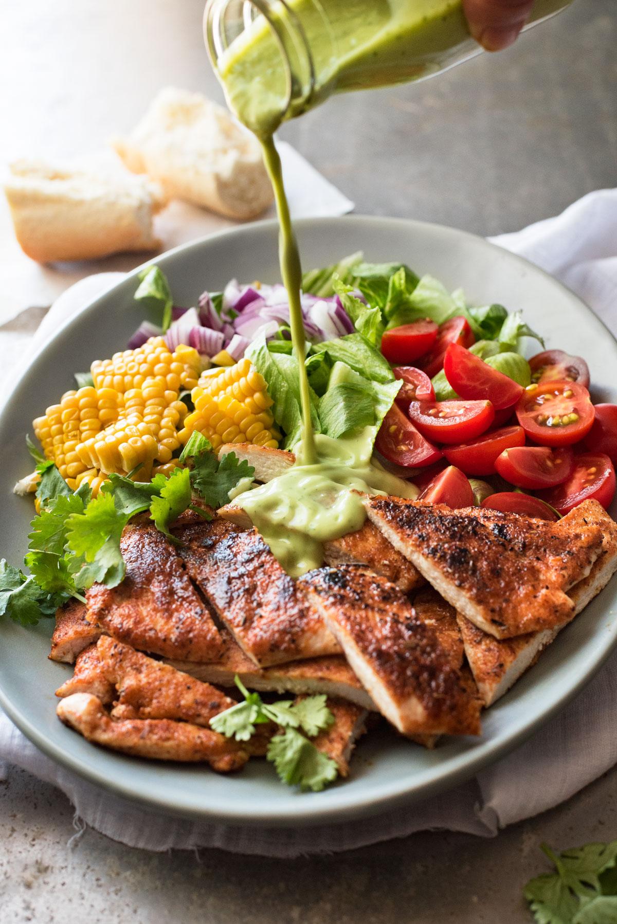 Chicken Salad Avocado Dressing_7