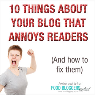 10 Things About Your Blog That Annoys Readers (and how to fix them)