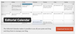 Editorial Calendar Plugin